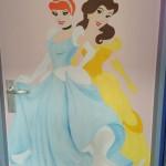 Deurschildering Prinsessen - 2013