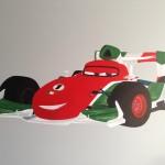 Deurschildering Cars - 2013