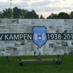 Jubileumbord VVKampen - 2013