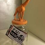 L | Giraffe| Pastel Oranje