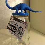 L | Dinosaurus| Kobalt Blauw