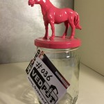 L | Paard| Fuchsia Roze