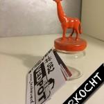 XS | Giraffe | Oranje