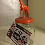 M | Giraffe | Oranje