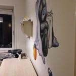 120x120 cm, Acrylverf op sausklaar